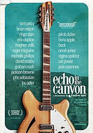 "Movie poster for ""ECHO IN THE CANYON"""