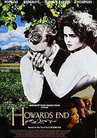 "Movie poster for ""HOWARDS END"""