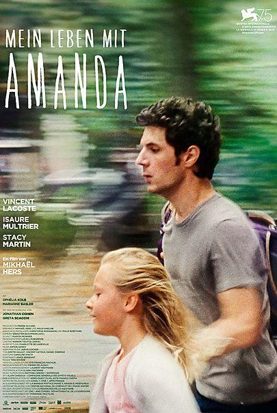 """Filmplakat für """"MEIN LEBEN MIT AMANDA"""""""