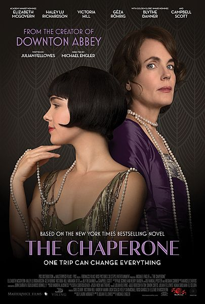 "Movie poster for ""THE CHAPERONE"""