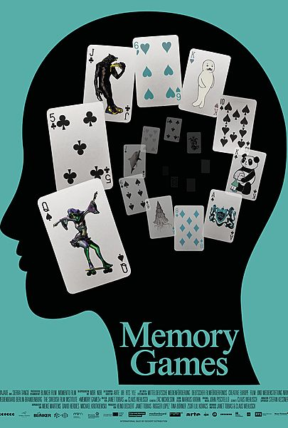 "Movie poster for ""MEMORY GAMES"""