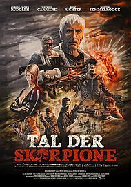 "Movie poster for ""Tal der Skorpione"""