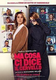 "Movie poster for ""MA COSA CI DICE IL CERVELLO"""
