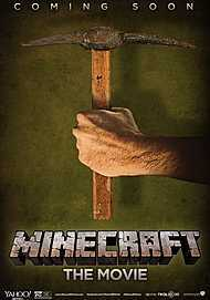"""Movie poster for """"MINECRAFT"""""""
