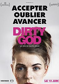 "Movie poster for ""DIRTY GOD"""