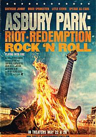 "Movie poster for ""ASBURY PARK: RIOT, REDEMPTION, ROCK 'N' ROLL"""