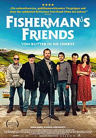 "Movie poster for ""FISHERMAN'S FRIENDS"""