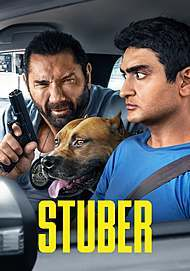 "Movie poster for ""STUBER"""