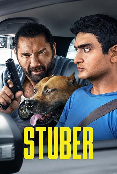 "Affiche du film ""STUBER"""