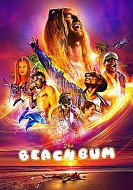 "Movie poster for ""THE BEACH BUM"""