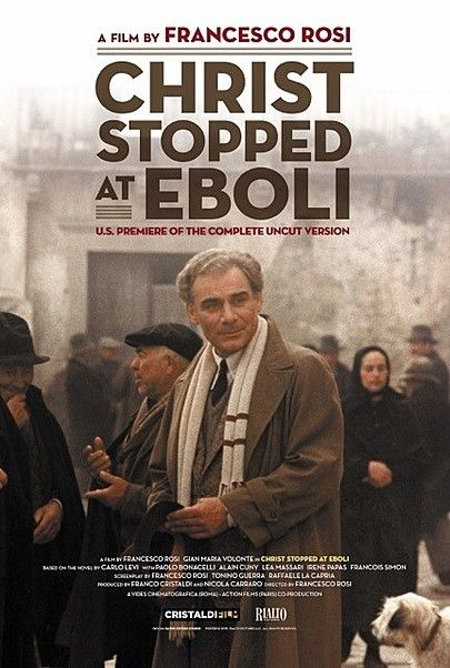"""Movie poster for """"CHRIST STOPPED AT EBOLI"""""""