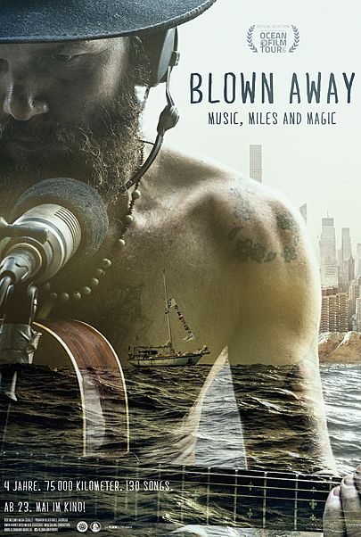 "Filmplakat für ""BLOWN AWAY - MUSIC, MILES AND MAGIC"""