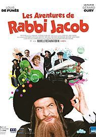 "Movie poster for ""THE MAD ADVENTURES OF RABBI JACOB"""