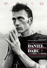 """Movie poster for """"DANIEL DARC, PIECES OF MY LIFE"""""""