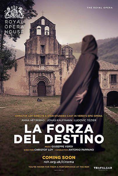 """Movie poster for """"LA FORZA DEL DESTINO (ROYAL OPERA HOUSE)"""""""