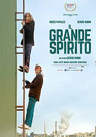 "Movie poster for ""IL GRANDE SPIRITO"""