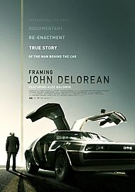 "Movie poster for ""FRAMING JOHN DELOREAN"""