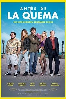 "Movie poster for ""ANTES DE LA QUEMA"""