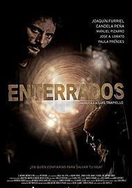 """Movie poster for """"ENTERRADOS"""""""