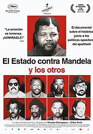 "Movie poster for ""THE STATE AGAINST NELSON MANDELA AND THE OTHERS"""