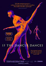 "Movie poster for ""IF THE DANCER DANCES"""
