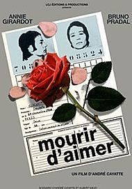 """Movie poster for """"MOURIR D'AIMER"""""""