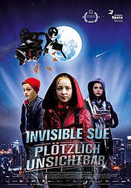 "Movie poster for ""INVISIBLE SUE"""