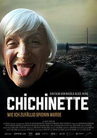 """Filmplakat für """"Chichinette - Wie ich zufällig Spionin wurde"""""""
