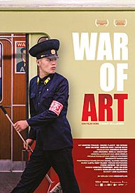 "Movie poster for ""WAR OF ART"""