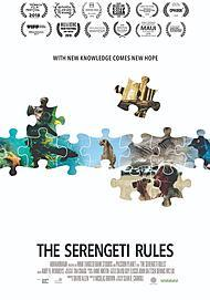 "Movie poster for ""THE SERENGETI RULES"""