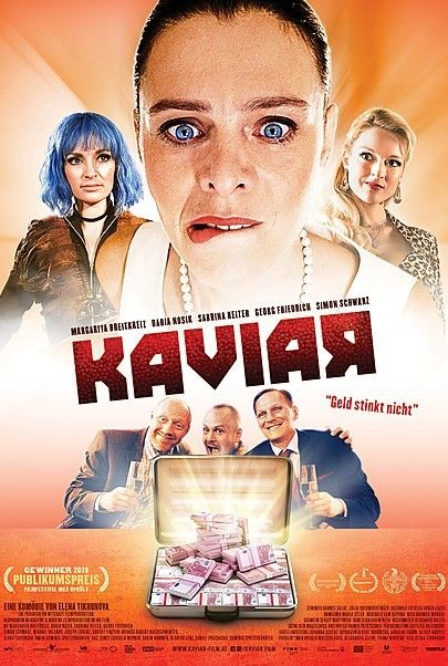 "Movie poster for ""Kaviar - Filmstart in Österreich"""