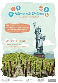 """Filmplakat für """"Hiwwe wie Driwwe - Pfälzisch in Amerika"""""""