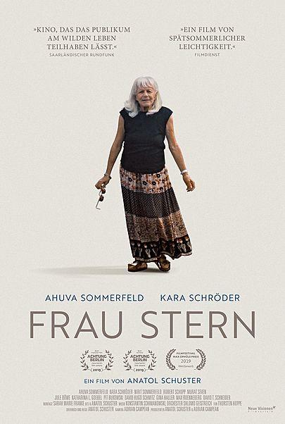 """Filmplakat für """"Frau Stern"""""""