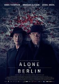 "Movie poster for ""ALONE IN BERLIN"""