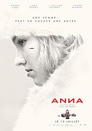 "Movie poster for ""ANNA"""