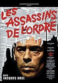 """Movie poster for """"LES ASSASSINS DE L'ORDRE"""""""
