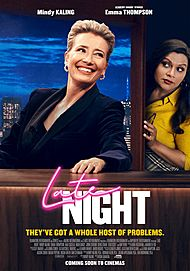 "Filmplakat für ""LATE NIGHT"""