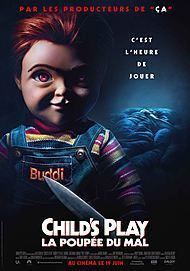 "Movie poster for ""CHILD'S PLAY"""