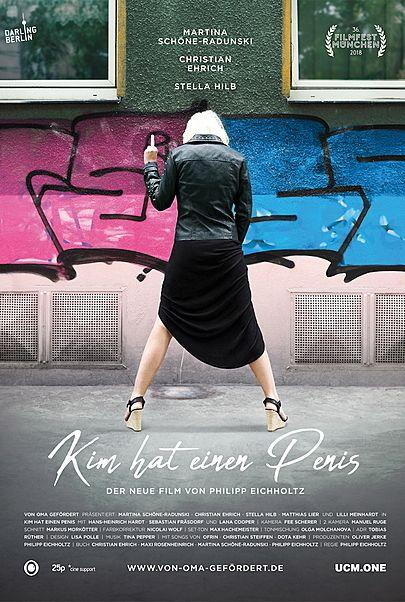 """Filmplakat für """"KIM HAT EINEN PENIS"""""""