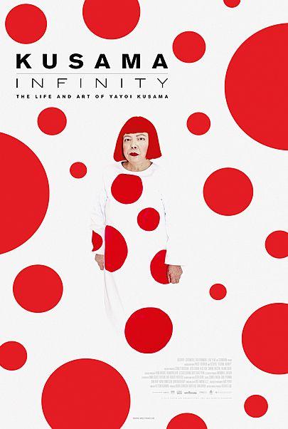 """Movie poster for """"KUSAMA – INFINITY"""""""
