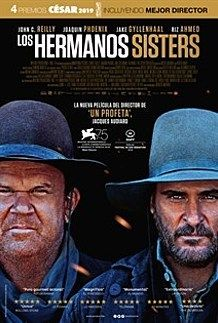"Movie poster for ""THE SISTERS BROTHERS"""