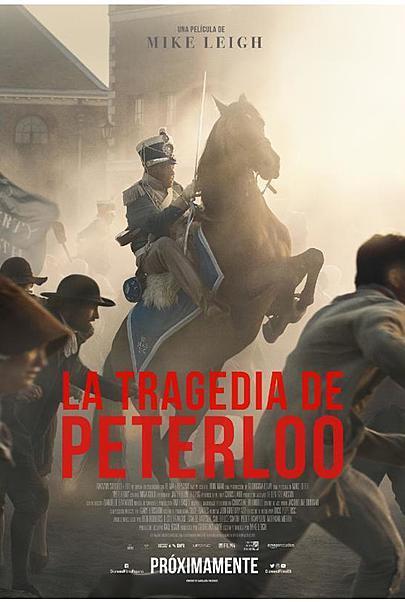 "Póster para ""LA TRAGEDIA DE PETERLOO"""