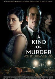 "Movie poster for ""A KIND OF MURDER"""