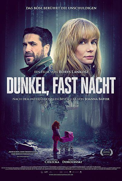 """Filmplakat für """"DUNKEL, FAST NACHT – CIEMNO, PRAWIE NOC"""""""