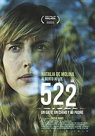"""Movie poster for """"522. A CAT, A CHINESE GUY AND MY FATHER"""""""