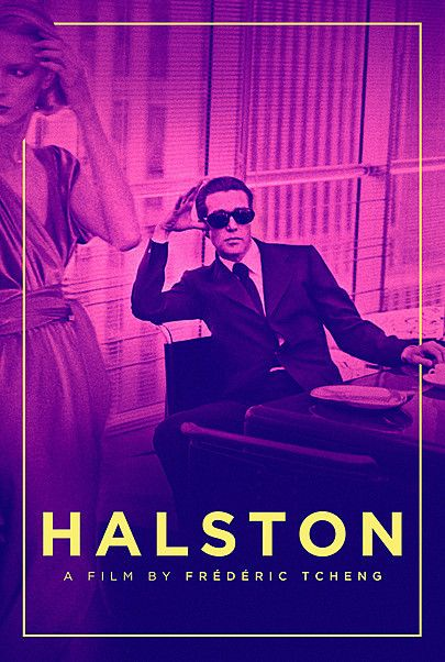 """Movie poster for """"HALSTON"""""""