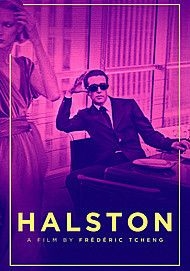 "Movie poster for ""HALSTON"""