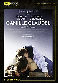 "Movie poster for ""CAMILLE CLAUDEL"""