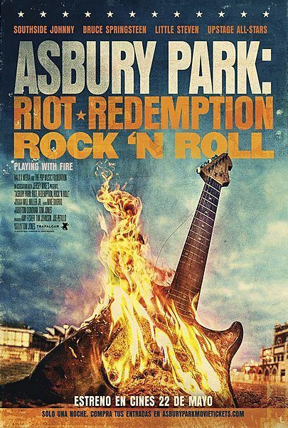 """Movie poster for """"ASBURY PARK: RIOT, REDEMPTION, ROCK 'N' ROLL"""""""