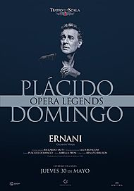 "Movie poster for ""OPERA LEGENDS - PLACIDO DOMINGO : ERNANI"""